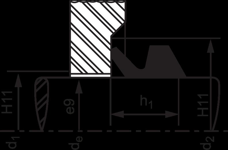 Anel de Vedação Vring Modelo S