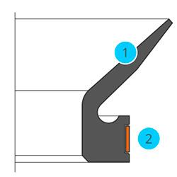 Anel de Vedação V'ring RME
