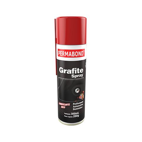 Grafite Spray Lubrificante Seco Permabond