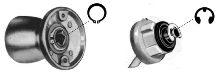 Anel Elástico - Deslocamento Axial