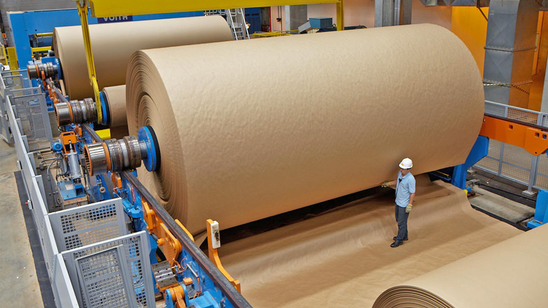 A evolução da tecnologia para a indústria de papel