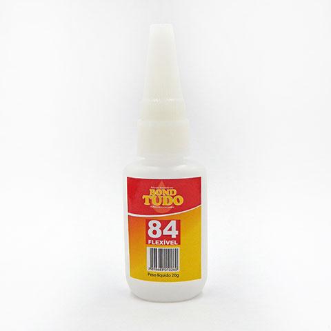 Adesivo Instantâneo de Cianoacrilato Bondtudo 84