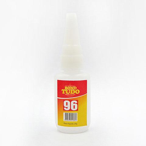 Adesivo Instantâneo de Cianoacrilato Bondtudo 96