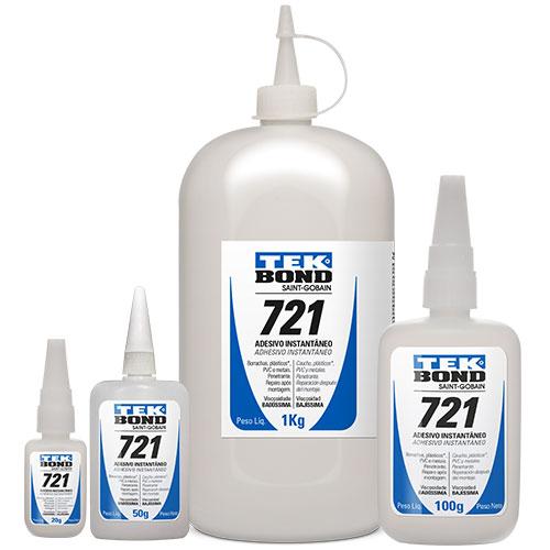 Adesivo Instantâneo Cianoacrilato TEKBOND 721