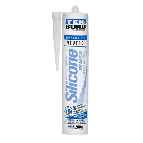 Silicone Neutro Branco TEKBOND